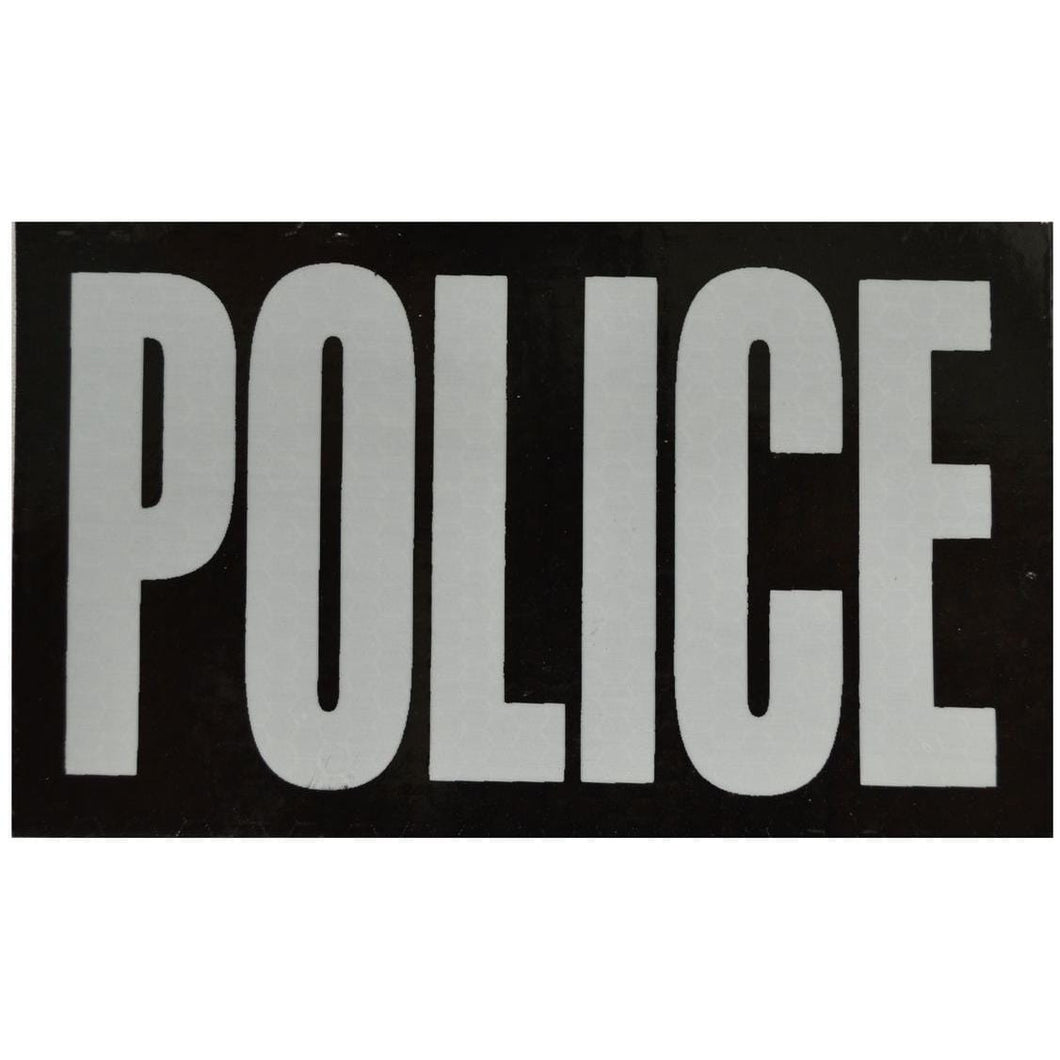 IR (Infrared) POLICE (White Graphic) - 3x5 Inch Patch