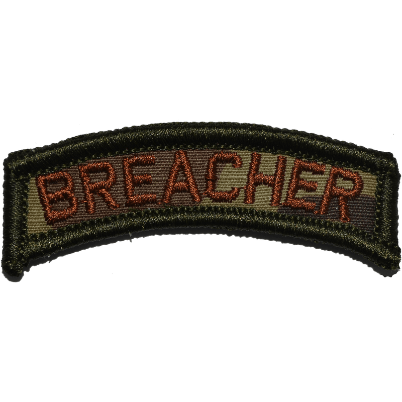 Tactical Gear Junkie Patches MultiCam w/ Spice Breacher Tab Patch