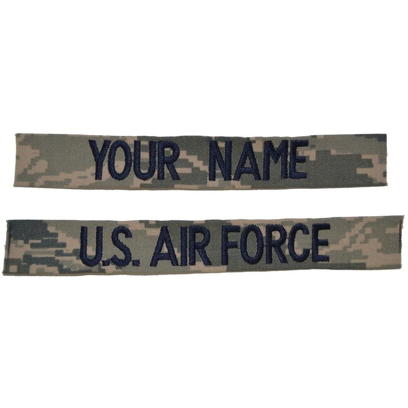 Tactical Gear Junkie Name Tapes 2 Piece Custom Name Tape Set - SEW-ON - ABU
