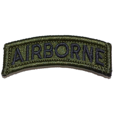 Airborne Tab Patch OliveDrab/Green