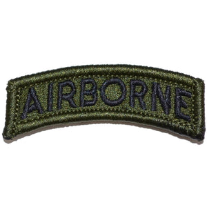 Airborne Tab Patch - Olive Drab/Green