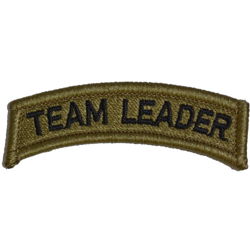 Tactical Gear Junkie Patches Team Leader Tab Patch - OCP/Scorpion