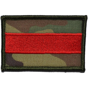 Thin Red Line Firefighter Patch - 2x3 Patch