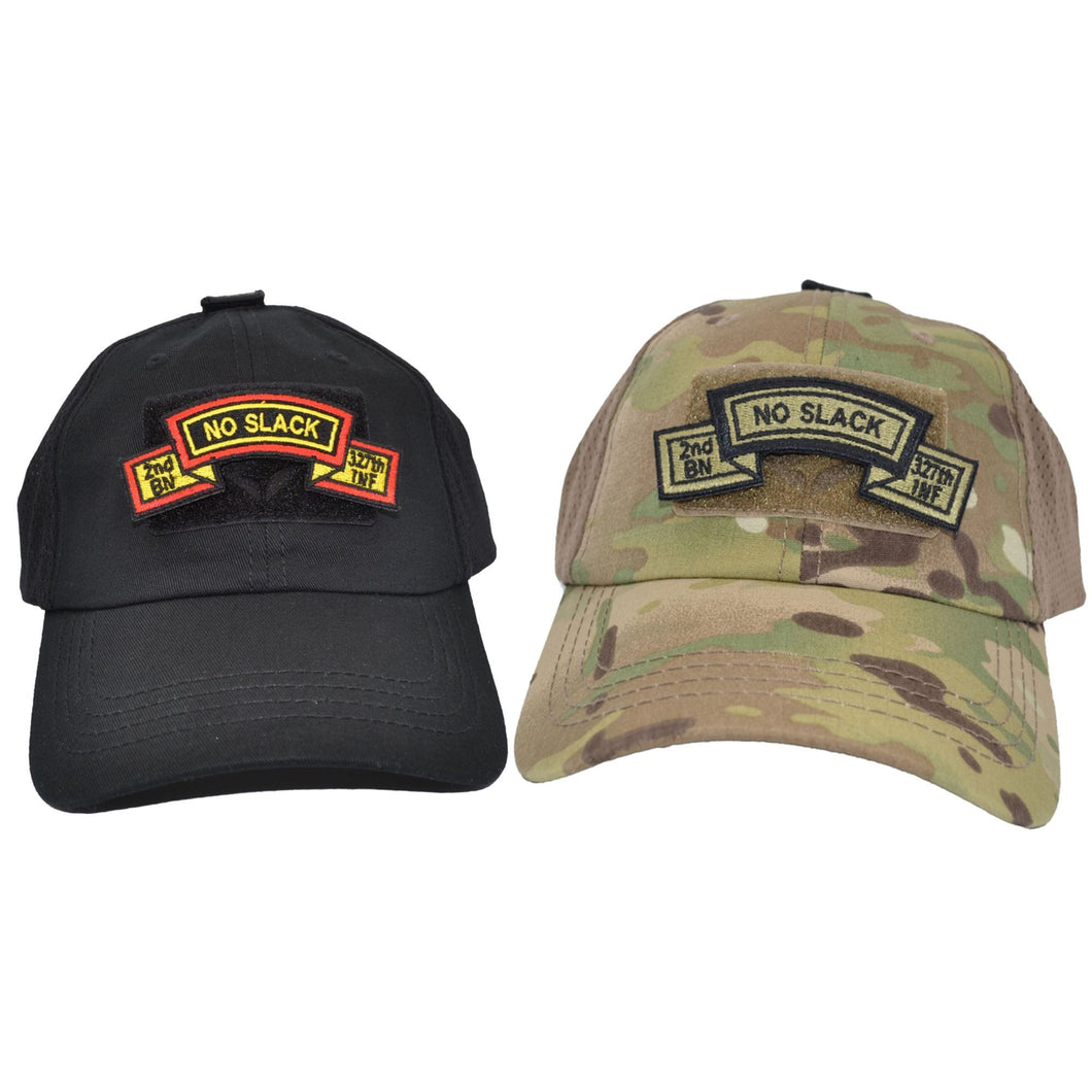 No Slack Reunion Fundraiser - Two Hats w/ Patches