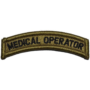 Medical Operator Tab Patch Multicam/OCP/Scorpion