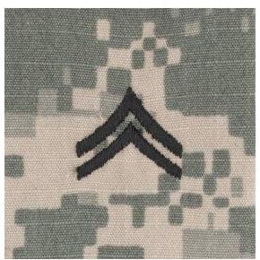 Tactical Gear Junkie Rank CPL Army Rank - SEW ON - ACU