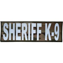 Sheriff K-9 Reflective - 4x12 Patch