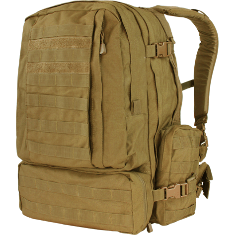 Condor Tactical Gear Coyote Brown Condor 3 Day Assault Pack