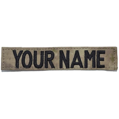 Single Name Tape w/ Hook Fastener Backing - ATACS AU