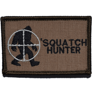 Squatch / Bigfoot Hunter Patch