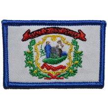 West Virginia State Flag - 2x3 Patch