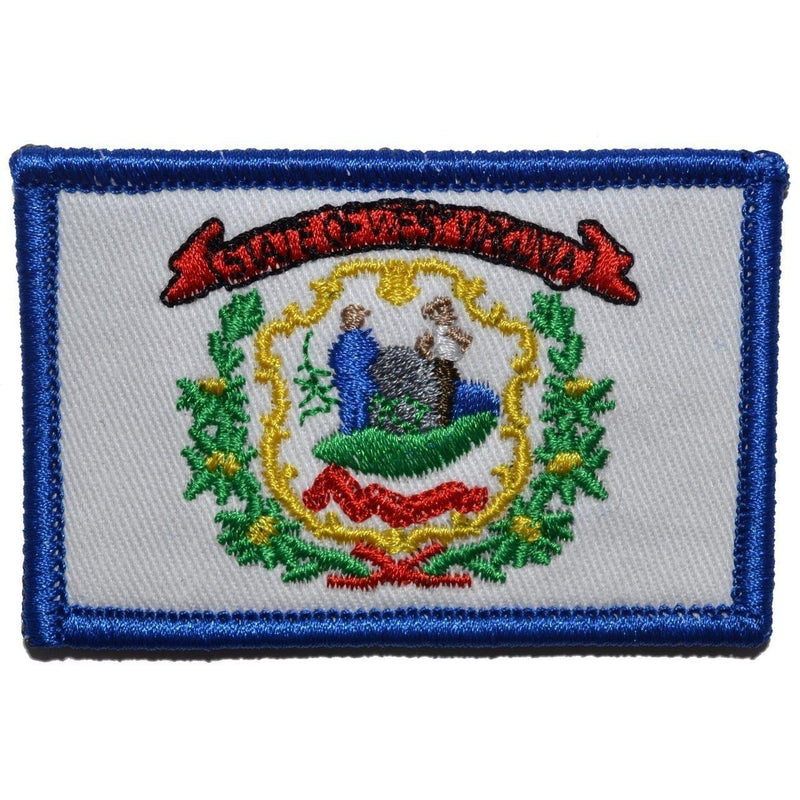Tactical Gear Junkie Patches Full Color West Virginia State Flag - 2x3 Patch