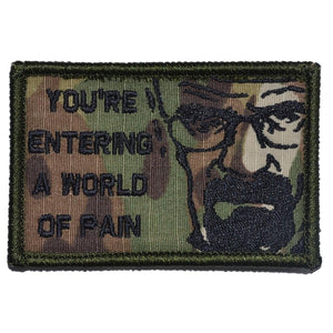 You're Entering A World of Pain, Walter White Quote - 2x3 Patch