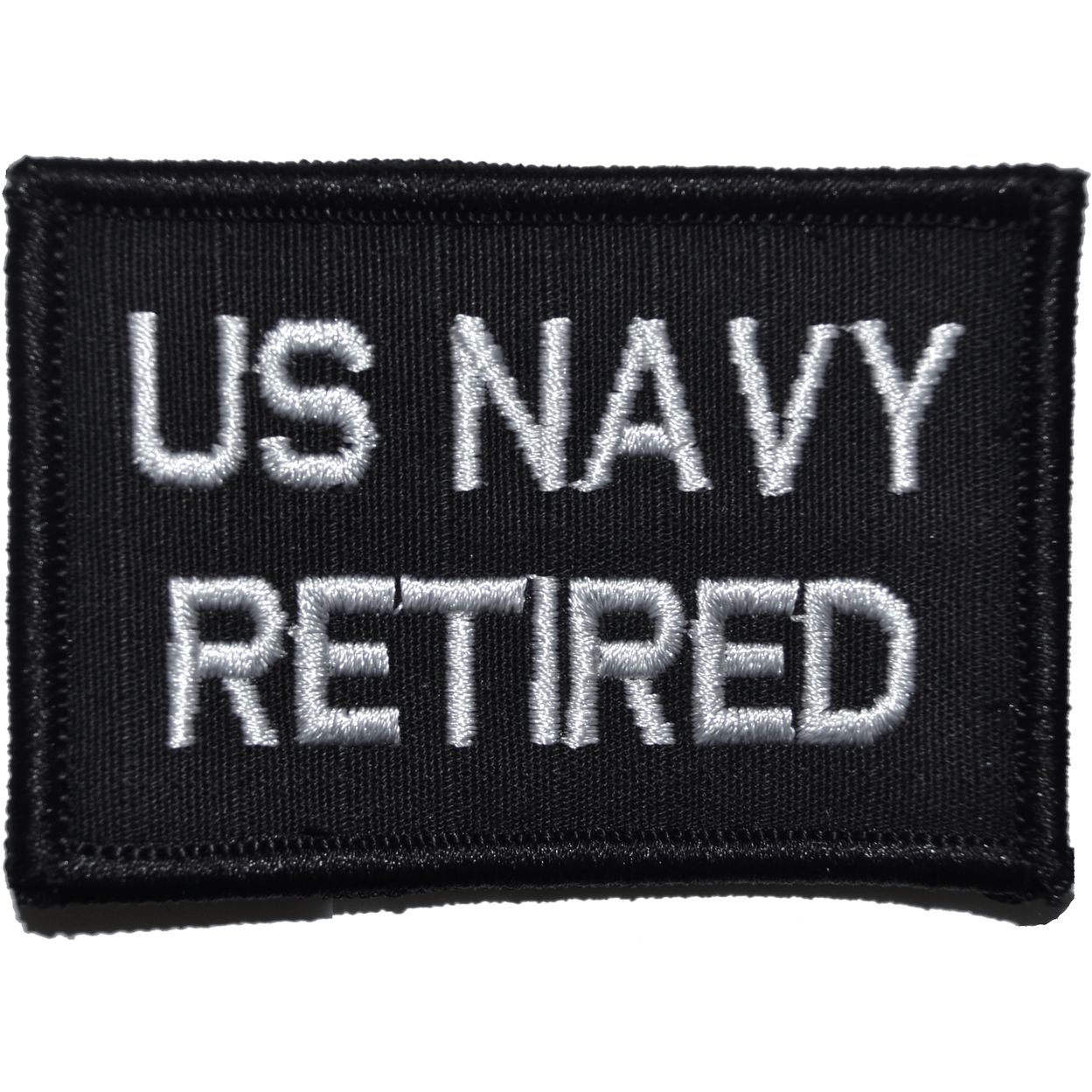 US Navy Retired- 2x3 Patch