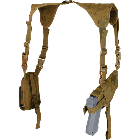 Condor Tactical Gear Coyote Brown Condor Universal Shoulder Holster