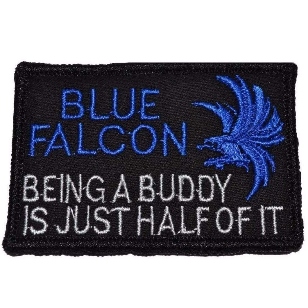 Blue Falcon 2x3 Patch