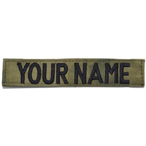 Single Name Tape w/ Hook Fastener Backing - ATACS FG