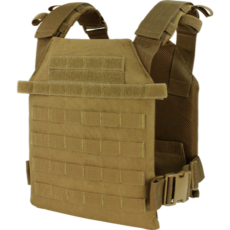 Condor Tactical Gear Coyote Brown Condor Sentry Lightweight Plate Carrier