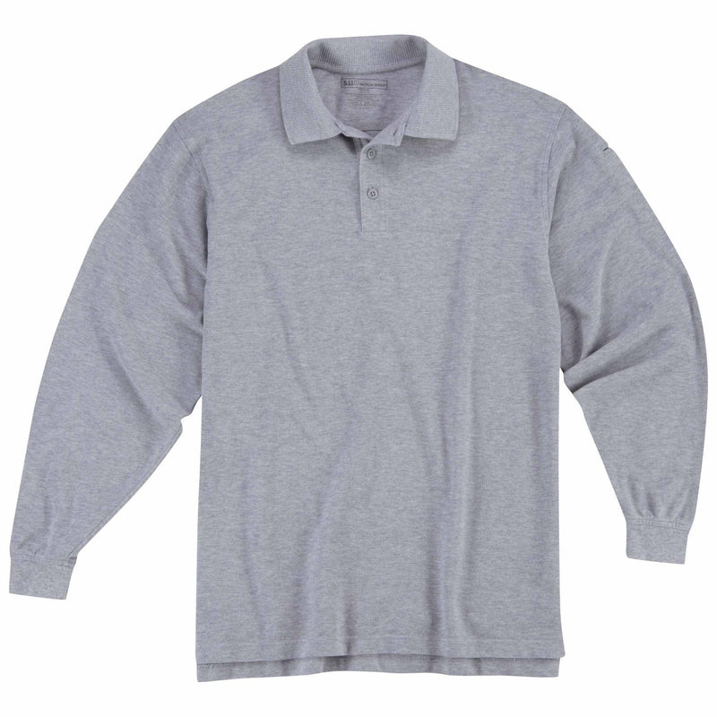 5.11 Tactical Apparel Heather Gray / Regular 3X-Large 5.11 Tactical Professional Polo - Long Sleeve