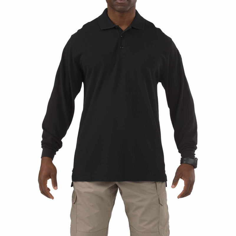 5.11 Tactical Apparel Black / Regular 2X-Large 5.11 Tactical Professional Polo - Long Sleeve