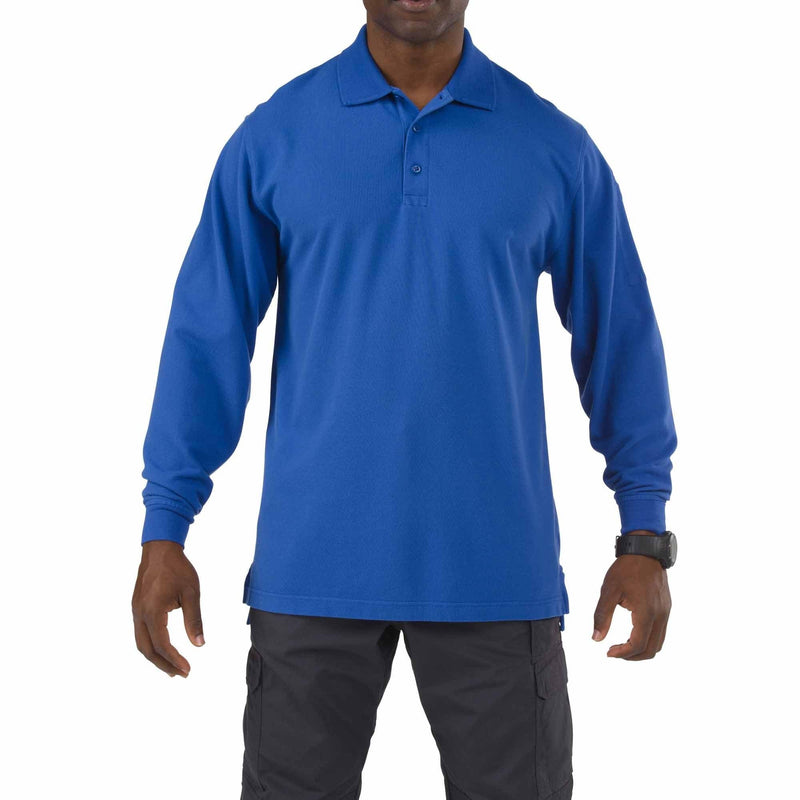 5.11 Tactical Apparel Academy Blue / Regular 3X-Large 5.11 Tactical Professional Polo - Long Sleeve