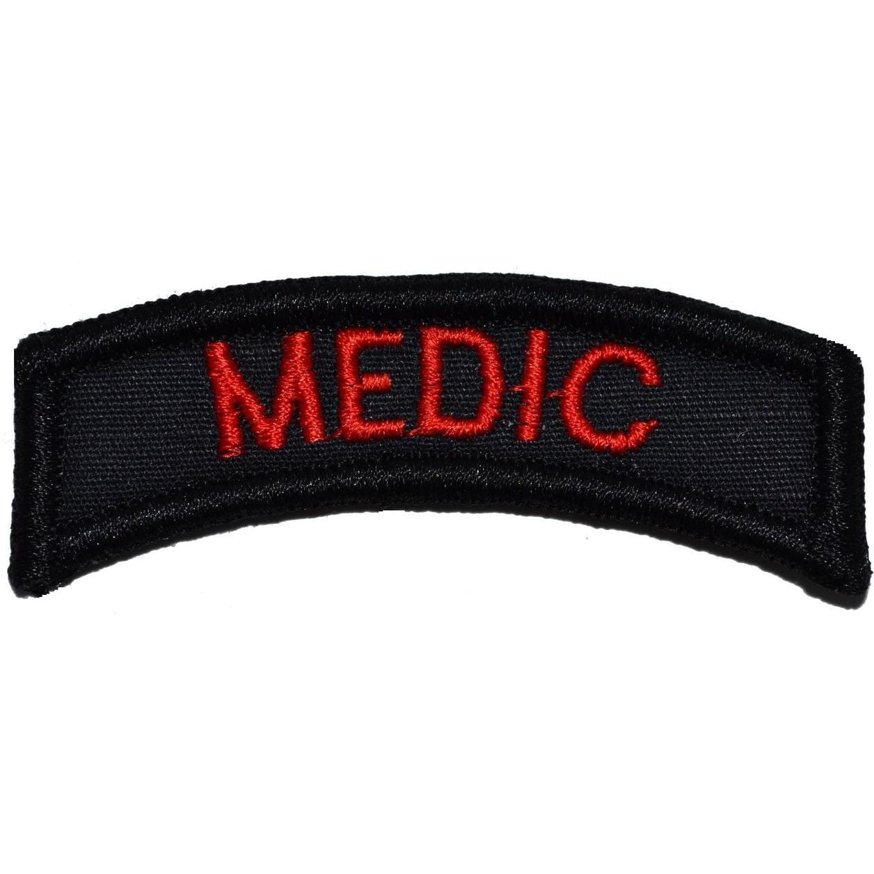 Tactical Gear Junkie Patches Black Medic Tab Patch