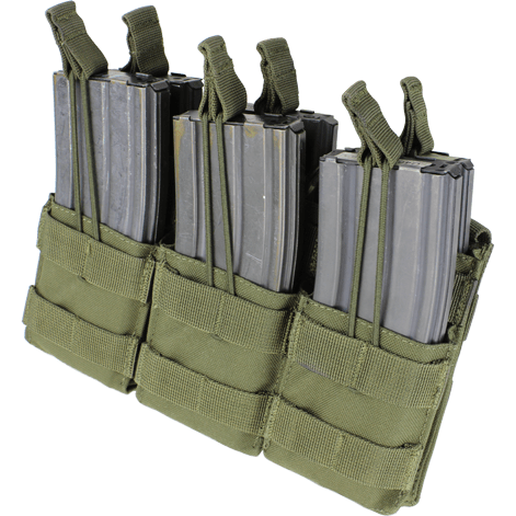 Condor Tactical Gear Olive Drab Condor Triple Stacker M4 Mag Pouch