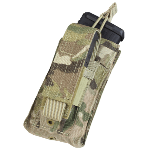 Condor Tactical Gear Multicam Condor Single M4 Hook & Loop Top Mag Pouch