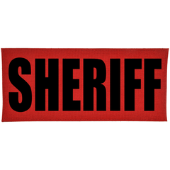 SHERIFF Heat Press Vinyl - 4x9 CORDURA® Patch