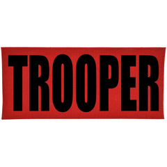TROOPER Heat Press Vinyl - 4x9 CORDURA® Patch