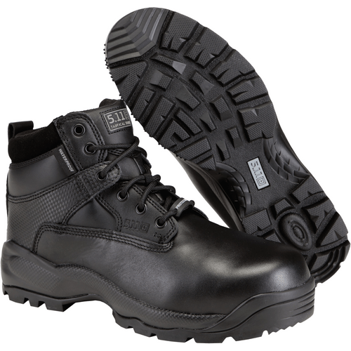 5.11 Tactical Apparel Black / 10.5 Regular 5.11 Tactical ATAC 6  Shield ASTM Boot with Side Zip
