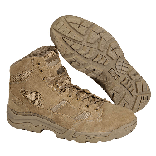 5.11 Tactical Apparel Coyote / 10 Regular 5.11 Tactical Taclite 6  Coyote Boot