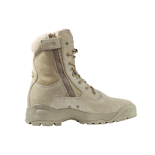 5.11 Tactical Apparel Coyote / 10 Regular 5.11 Tactical ATAC 8  Coyote Boot with Side Zip