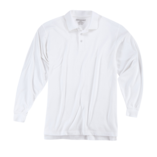 5.11 Tactical Apparel White / Regular Large 5.11 Tactical Professional Polo - Long Sleeve