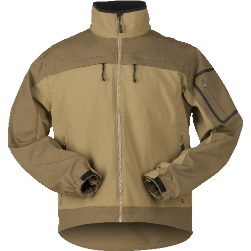 5.11 Tactical Apparel Flat Dark Earth / 3X-Large 5.11 Tactical Chameleon Softshell Jacket