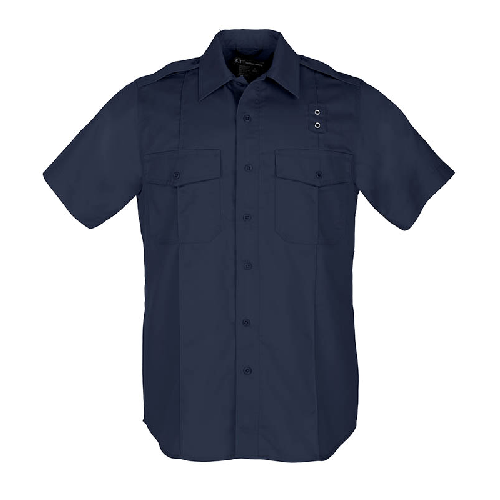 5.11 Tactical Apparel Midnight Navy / Regular Large 5.11 Tactical Womens Taclite PDU Class A Short Sleeve Shirt