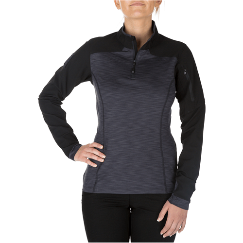 5.11 Tactical Apparel Charcoal / Small 5.11 Tactical WomenS Rapid Half Zip