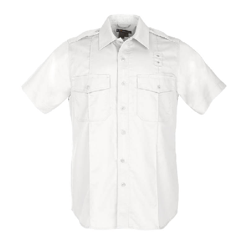 5.11 Tactical Apparel White / Tall 3X-Large 5.11 Tactical MenS Pdu S/S Twill A-Class Shirt