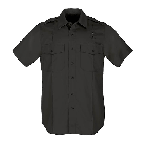 5.11 Tactical Apparel Black / Tall 3X-Large 5.11 Tactical MenS Pdu S/S Twill A-Class Shirt