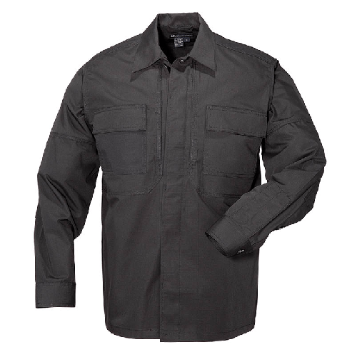 5.11 Tactical Apparel Black / 2X-Large 5.11 Tactical Ripstop TDU Shirt Long Sleeve