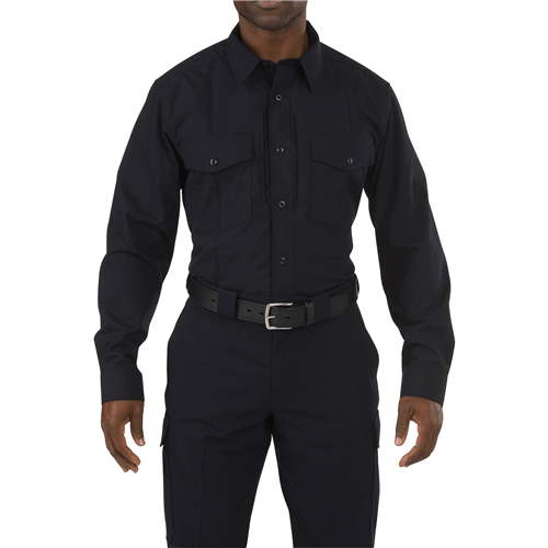 5.11 Tactical Apparel Midnight Navy / Small 2X-Large 5.11 Tactical Mens Stryke Long Sleeve PDU - Class B