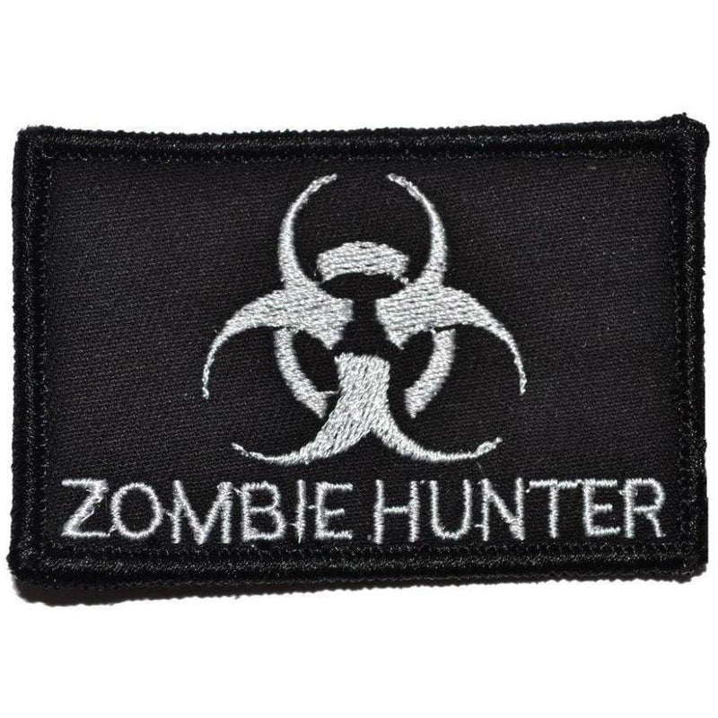 Tactical Gear Junkie Patches Black Zombie Hunter Biohazard - 2x3 Patch
