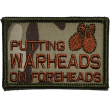 Putting Warheads on Foreheads Patch - 2x3 Patch