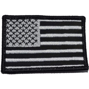 MultiCam BLACK USA Flag Patch 2x3