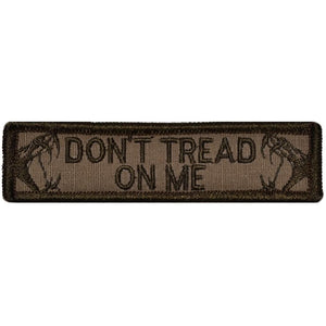 Viper Head Don't Tread on Me - 1x3.75 Patch