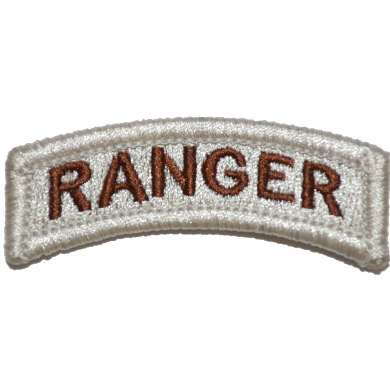 Tactical Gear Junkie Patches Ranger Tab Patch - Desert