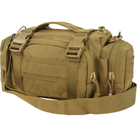 Condor Tactical Gear Coyote Brown Condor Modular Style Deployment Bag
