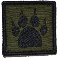 TRACKER PAW 2x2 Patch