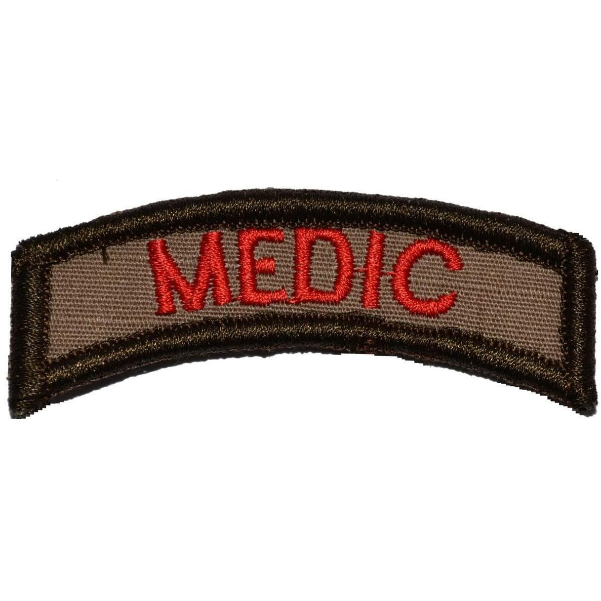 Tactical Gear Junkie Patches Coyote Brown Medic Tab Patch
