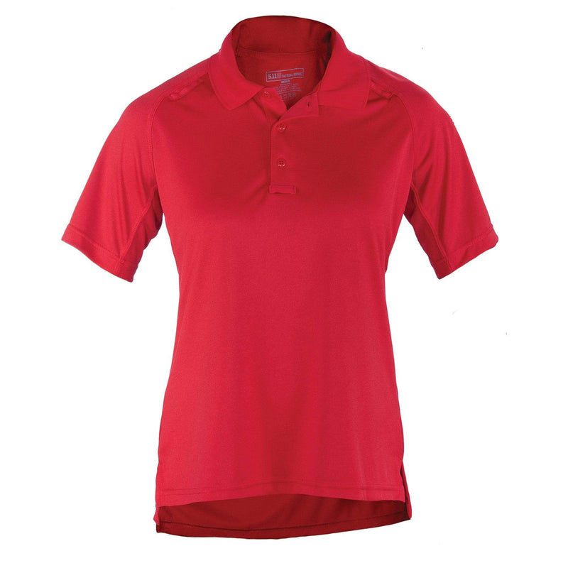 5.11 Tactical Apparel Range Red / Large 5.11 Tactical Womens Performance Polo